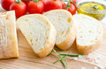 Italian ciabatta bread Royalty Free Stock Photo