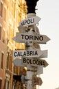 Italian cities Royalty Free Stock Photography