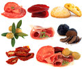 Italian cuisine - gourmet food, antipasti Royalty Free Stock Photos