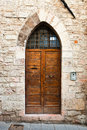 Italian Door Stock Photo