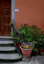 Italian doorway,Tuscany Stock Images
