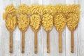 Italian Dried Pasta Royalty Free Stock Photo