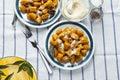 Italian dumplings. pumpkin gnocchi. healthy vegetarian squash di
