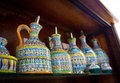 Italian Estruscan style ceramics Royalty Free Stock Photo
