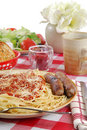 Italian Feast Stock Photography