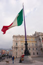 Italian flag Royalty Free Stock Photo