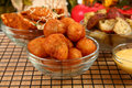 Italian Fried Stuffed Mushrooms Royalty Free Stock Photography