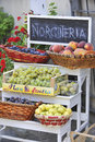 Italian fruit shop Royalty Free Stock Photo