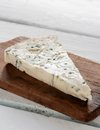 Italian gorgonzola piece Royalty Free Stock Images