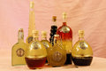 Italian homemade liquors Royalty Free Stock Images
