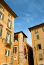 Italian houses Stock Image