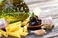 Italian Ingredients Royalty Free Stock Photography
