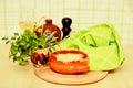 Italian lasagna bolognese Royalty Free Stock Image
