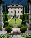 Italian Mansion Stock Photography