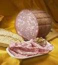 Italian mortadella Royalty Free Stock Photo
