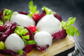 Italian Mozzarella Cheese Royalty Free Stock Images