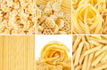 Italian pasta close up of Royalty Free Stock Images