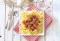 Italian pasta dish Royalty Free Stock Photo
