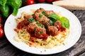 Italian Pasta Spaghetti With M...