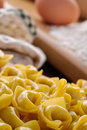 Italian pasta, tortellini, closeup Royalty Free Stock Images