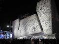 Italian pavilion at EXPO, the world exposition Royalty Free Stock Photo