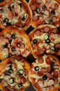 Italian pizza. Small pieces