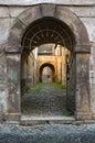 Italian portal Royalty Free Stock Photos