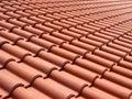 Italian Red Roof Tiles