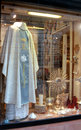Italian religious clothing store Royalty Free Stock Image