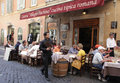 Italian restaurant Royalty Free Stock Photography