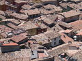 Italian roofs Royalty Free Stock Photo