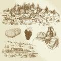 Italian Rural Landscape - Vine...