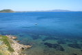 Italian sea - Tuscan - Italy - Argentario Royalty Free Stock Photo
