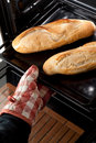 Italian Sfilatino Bread Royalty Free Stock Images