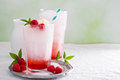 Italian soda drink Royalty Free Stock Photo