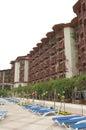 Italian style hotel, Antalya, Turkey Royalty Free Stock Photo