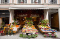 Italian traditional green grocer Royalty Free Stock Photo
