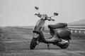 Italian vintage scooter Royalty Free Stock Photo