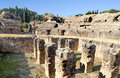 Italica Coliseum Royalty Free Stock Photo