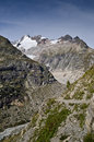 Italienische Alpen - Mont Blanc Lizenzfreie Stockbilder
