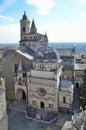 Italy bergamo church of santa maria maggiore ital basilica di s maria maggiore Royalty Free Stock Photography
