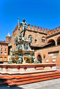 Italy bologna the fountain Royalty Free Stock Photo