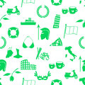 Italy country theme symbols and icons seamless pattern eps10 Royalty Free Stock Photo