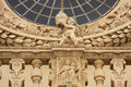 Italy Lecce Santa Croce Church detail Stock Image