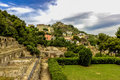 Italy napoli scavi archeologici di baia the archaeological site of is an archaeological site located in part of bacoli area of Stock Photos