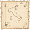 Italy old pirate map.