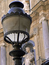 Italy Palermo Street lantern Royalty Free Stock Photo