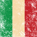 Italy retro flag Royalty Free Stock Image