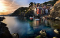 Italy Riomaggiore Cinque terre Royalty Free Stock Photo