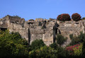 Italy, Roman ruins of Pompeii near Naples Royalty Free Stock Photos